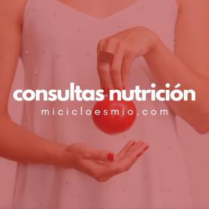 Consultas Nutrición